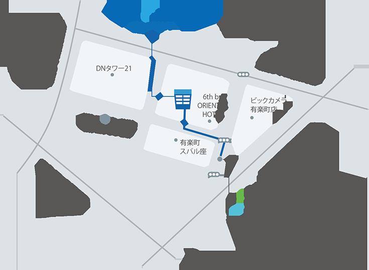 WINフロンティア研究所地図